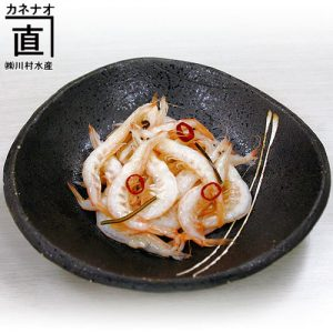 白えびの釜揚げ(甘酢漬け)