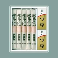 氷見うどん(細麺)5本つゆ付
